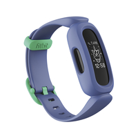 Fitbit Ace 3 Activity Tracker for Kids,  Cosmic Blue / Astro Green