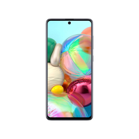 Samsung Galaxy A71 Smartphone LTE,  Haze Crush Silver