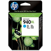 HP 940XL High Yield Original Ink Cartridge, Cyan