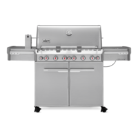 Weber Summit S-670 GBS Gas Grill Stainless Steel
