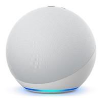 Amazon Echo (4th Gen) Smart Speaker with Alexa,  Glacier White