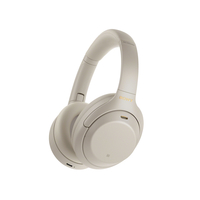 Sony WH-1000XM4 Wireless Noise - Canceling Headphones,  فضي