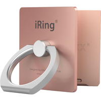iRing Link Phone Cradle and Stand for Wireless Chargers, Rose Gold