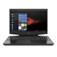 "HP Omen 15-DH1000NE i7-10750H, 16GB, 1TB SSD, GTX 1660Ti 6GB Graphics, 15.6"" FHD Gaming Laptop, Black"