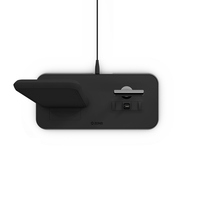 Zens-DC06B Wireless Charging Stand With Lightning Port, Black