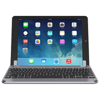 "Brydge 10.5 Bluetooth Keyboard for 10.5"" iPad Pro and iPad Air 2019 English and Arabic, Space Gray"