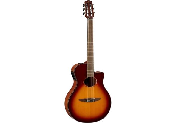 Yamaha NTX1 Nylon String Acoustic Electric Guitar, Brown Sunburst