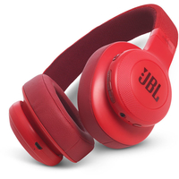 JBL E55BT Wireless over-ear Headphones, Red