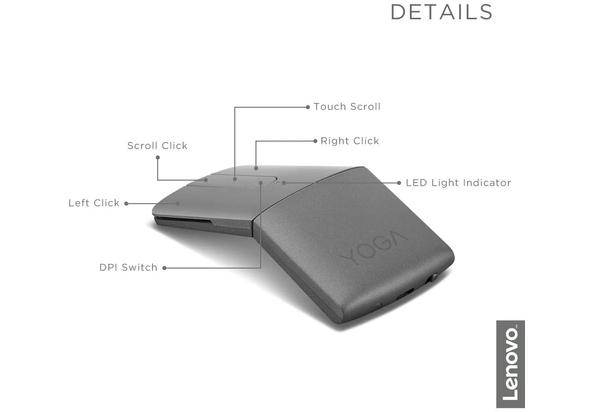 Lenovo GY50U59626 Yoga Mouse with Laser Presenter