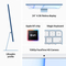 Apple iMac M1 chip with 8-Core CPU and 7-Core GPU 8GB, 256GB 24  Desktop Arabic and English, Blue