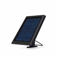 Ring Solar Panel for Ring Spotlight Camera, Black