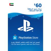 Sony Wallet top up 60 USD