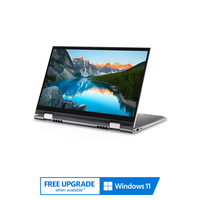 """Dell Inspiron 14 2-in-1, Core i5-1155G7, 8GB RAM, 512GB SSD, Nvidia GeForce MX350 2GB Graphics, 14"""" FHD Convertible Laptop, Silver"""