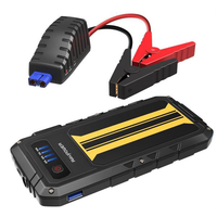 RAVPower Car Jump Starter 300A Peak Current 8000mAh Car Battery Booster, Black