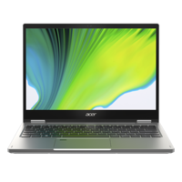 """Acer Spin 3 i7-1165G7, 8GB, 512GB SSD, 13.3"""" QDH Convertible Laptop, Silver"""