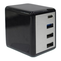 Inet 4 Port Quick Wall Charger