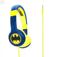 Batman The Caped Crusader Children's Headphones, Blue