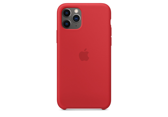 Apple iPhone 11 Pro Silicone Case, (PRODUCT) RED