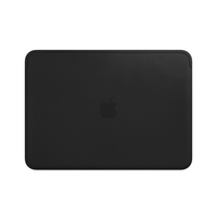 Apple Leather Sleeve for 12-inch MacBook, Black