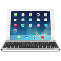 "Brydge 10.5 Bluetooth Keyboard for 10.5"" iPad Pro and iPad Air 2019 English and Arabic, Silver"