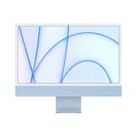 "Apple iMac M1 chip with 8-Core CPU and 7-Core GPU 8GB, 256GB 24"" Desktop Arabic and English, Blue"