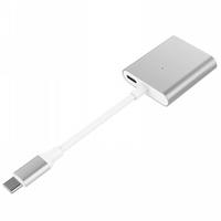 HyperDrive HD259A-SIL4K 3-in-1 USB Type-C Hub, Silver