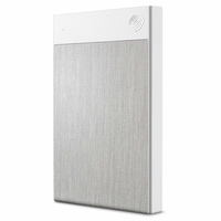 Seagate Backup Plus Ultra Touch 1TB External Hard Drive Portable HDD, White