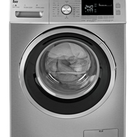 Teka 10+ 7 Kg 1600 RPM Washer Dryer TKD 1610 WD, Programs: 16+ 6 (Wash+ Dry) , Front Load, Stainless Steel