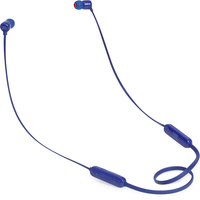 JBL T110BT Wireless In-Ear Headphones, Blue