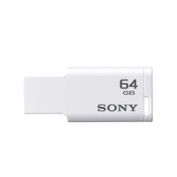 Sony Tiny M Series USM64M1 64GB USB 2.0 Pen Drive (White)