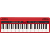 Roland GO-61K 61 Keys Home Piano, Red