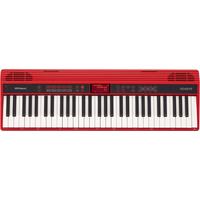 رولاند GO-61K بيانو 61 مفتاح , لون أحمر