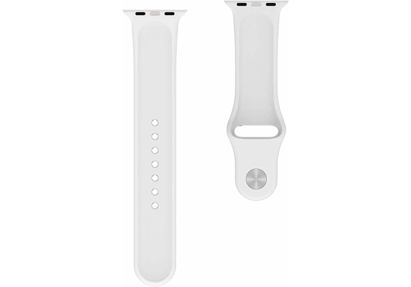 BeHello Premium Apple Watch Silicone Strap 38/40mm, Stone
