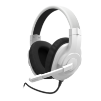 Hama Gaming Headset for PlayStation 5, Black/White