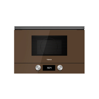 Teka 22 Liters Built-In Microwave with Grill ML 8220 BIS L London Brick Brown, 3 Cooking functions, Ceramic base