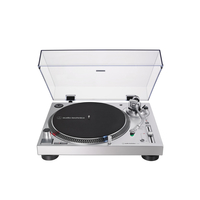 Audio Technica AT-LP120XUSB Direct-Drive Turntable (Analog & USB) , Silver
