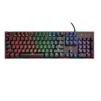 Porodo Mechanical Gaming Keyboard ( English / Arabic) , Black