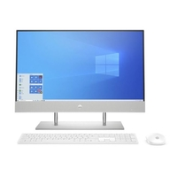 "HP 24-DP0015NE i7-1065G7, 16GB, 1TB HDD+ 256 SSD, MX 330 2GB Graphics, 23.8"" FHD All-In-One Desktop, Sliver"