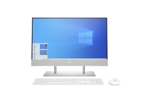 HP 24-DP0015NE i7-1065G7, 16GB, 1TB HDD+ 256 SSD, MX 330 2GB Graphics, 23.8  FHD All-In-One Desktop, Sliver