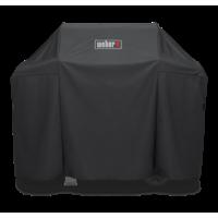 Weber Premium Grill Cover Built for Spirit II 300 series, Spirit 300 series and Spirit 200 series (with side mounted controls)