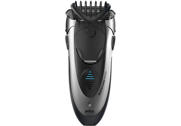 Braun MG5090 Wet & Dry Multi Groomer With 3 Comb Attachments+ Charging Stand