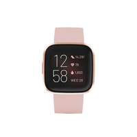 Fitbit Versa 2 Fitness Smartwatch,  Petal/Copper
