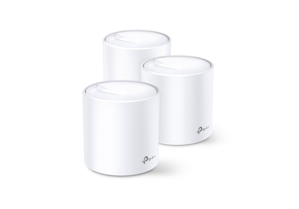 TP-Link Deco X60 AX3000 Whole Home Mesh Wi-Fi 6 System (3-pack)