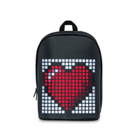 Divoom App Controlled LED Panel Water Resistant Backpack