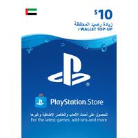 Sony Wallet top up 10 USD