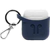PodPocket Silicone Case for Apple AirPods, Indigo Blue