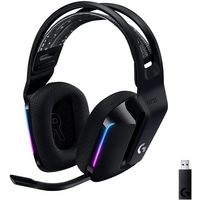 Logitech G733 Ultra-Lightweight Wireless Gaming Headset, Black