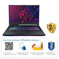 "Asus ROG Strix G15 i7 16GB, 1TB 4GB NVIDIA GeForce GTX 1650 Ti Graphic 15"" Gaming Laptop"