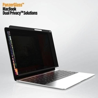 PanzerGlass PNZP516 Magnetic Privacy Screen Protector for 12 Inch MacBook,