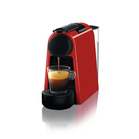 Nespresso D30 Essenza Mini Coffee Maker, Ruby Red